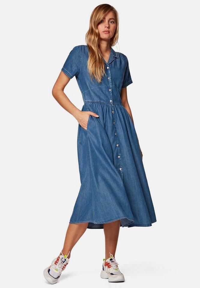 Mavi Jeanskleid »DENIM DRESS« Jeanskleid, Lässiges Midi ...