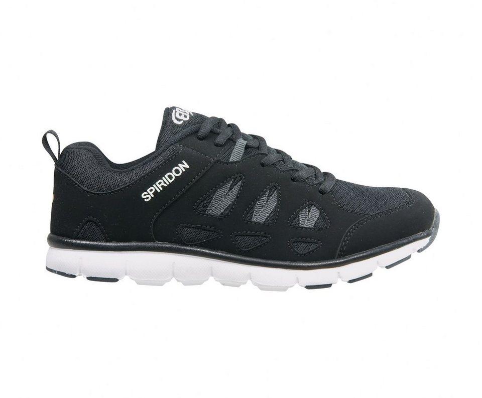Brütting Sneaker zum Schnüren und mit atmungsaktivem Nylon »SPIRIDON FIT« in SCHWARZ/WEISS