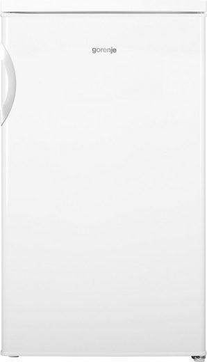 GORENJE Kühlschrank RB493PW, 84,5 cm hoch, 56 cm breit