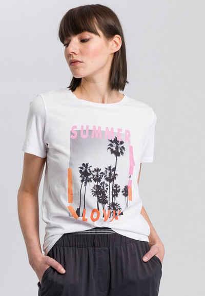 MARC AUREL T-Shirt mit Summer-Print