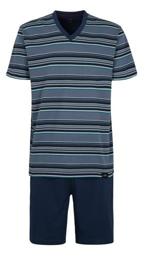 GÖTZBURG Pyjama Modisches Design Bügelfrei