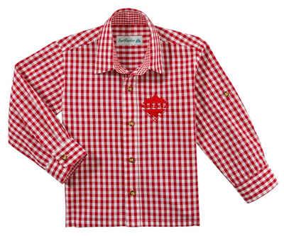 Andreas Gabalier Kollektion Trachtenhemd Kinder mit Mountainman Stickerei