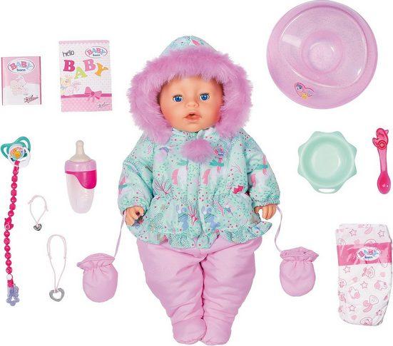 Zapf Creation® Babypuppe »Exklusiv BABY born Soft Touch Winter Edition 43cm«