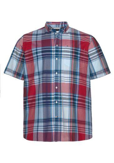 Tommy Hilfiger Big & Tall Kurzarmhemd »BT - MADRAS CHECK SHIRT«