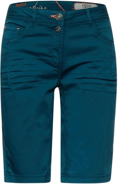 Hosen - Cecil Shorts »Style New York«, ein schönes Sommerbasic › blau  - Onlineshop OTTO