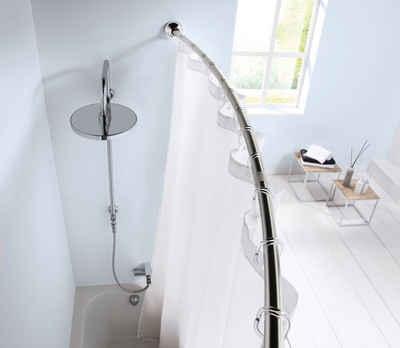 Bogenstange »Duschvorhangstange«, Kleine Wolke, Ø 25 mm, kürzbar, für Duschvorhänge, Länge 125-220 cm