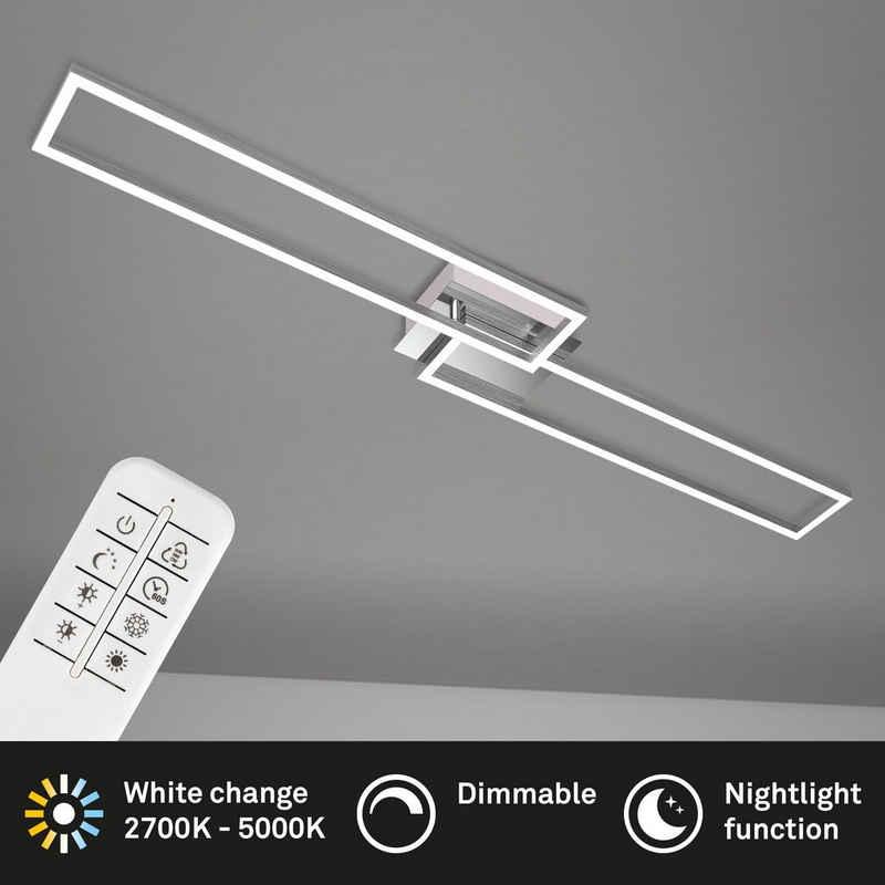 Briloner Leuchten Deckenleuchte »3145-018«, Deckenlampe dimmbar schwenkbar CCT Steuerung