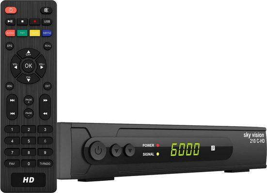 Sky Vision »210 C-HD HDTV« Kabel-Receiver