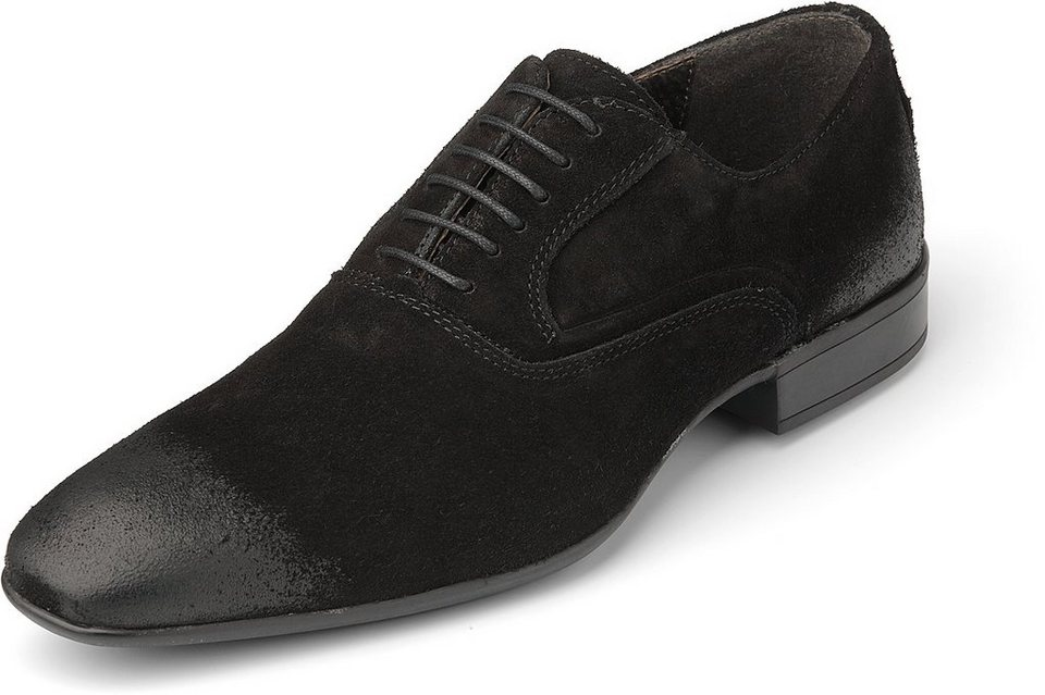 Görtz Shoes Oxford-Schnürschuh in schwarz
