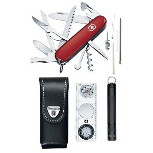 Victorinox Traveller Set in Rot