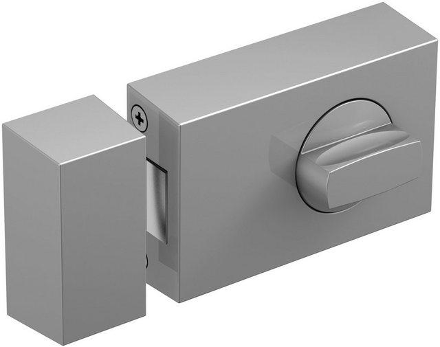 BASI Türzusatzschloss »Dornmaß 45 mm - silber (eckig)«, Kastenschloss KS 500