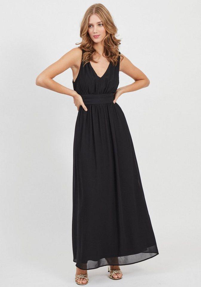 Festtagsmode - Vila Abendkleid »VIMILINA« mit breitem Bindeband, Schleife im Rücken ›  - Onlineshop OTTO