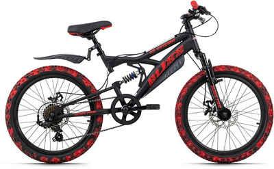 KS Cycling Mountainbike »Bliss Pro«, 7 Gang Shimano Tourney Schaltwerk, Kettenschaltung