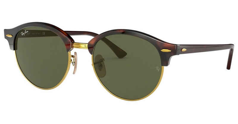 RAY BAN Sonnenbrille »Clubround RB4246«