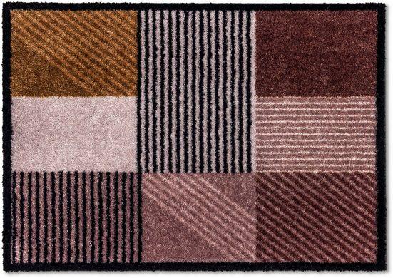 Fußmatte »Manhattan 006«, SCHÖNER WOHNEN-Kollektion, rechteckig, Höhe 7 mm, Fussabstreifer, Fussabtreter, Schmutzfangläufer, Schmutzfangmatte, Schmutzfangteppich, Schmutzmatte, Türmatte, Türvorleger