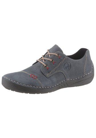 Rieker Suvarstomi batai su kontrastfarbener Z...
