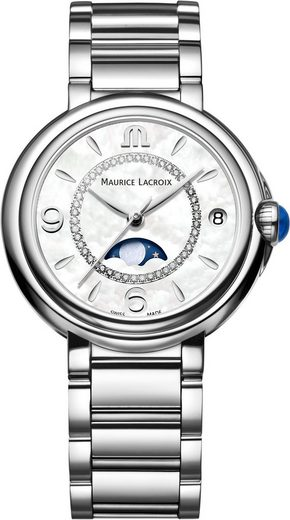 MAURICE LACROIX Schweizer Uhr »Eliros Moonphase, FA1084-SS002-170-1«