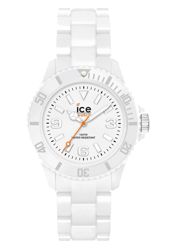 "ice-watch, Armbanduhr, ""ICE-SOLID, White Small, SD.WE.S.P.12"""