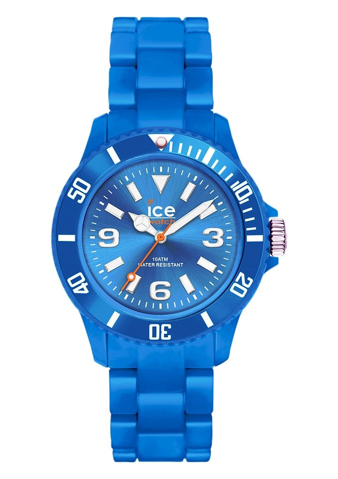 ice-watch Quarzuhr »ICE-SOLID Blue Small, SD.BE.S.P.12« in blau