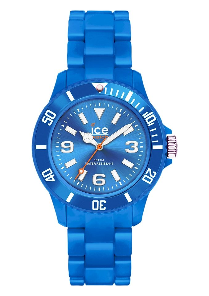 ice-watch Quarzuhr »ICE-SOLID Blue Small, SD.BE.S.P.12«