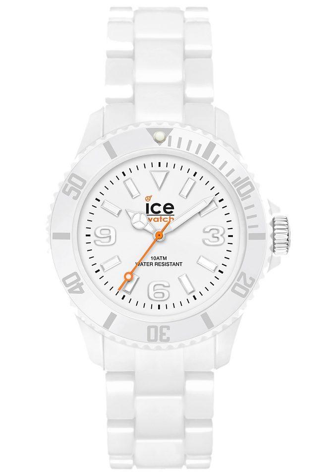 ice-watch Quarzuhr »ICE-SOLID White Unisex, SD.WE.U.P.12«