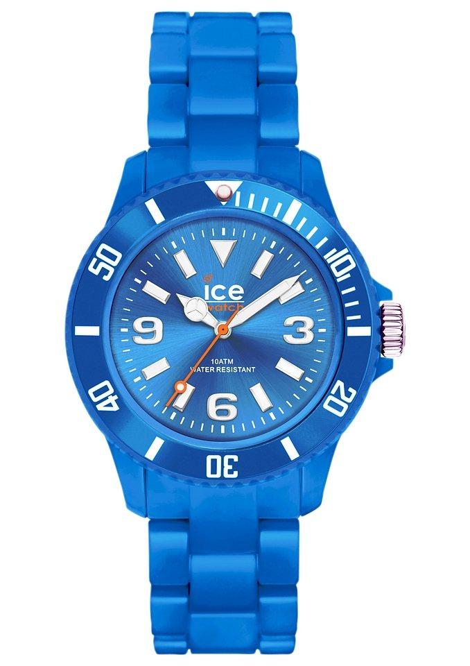 ice-watch Quarzuhr »ICE-SOLID Blue Unisex, SD.BE.U.P.12« in blau