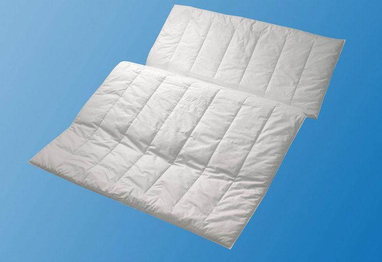 Microfaserbettdecke, »Sport Line«, Centa-Star, warm, Bezug: 100% Baumwolle, (1-tlg)