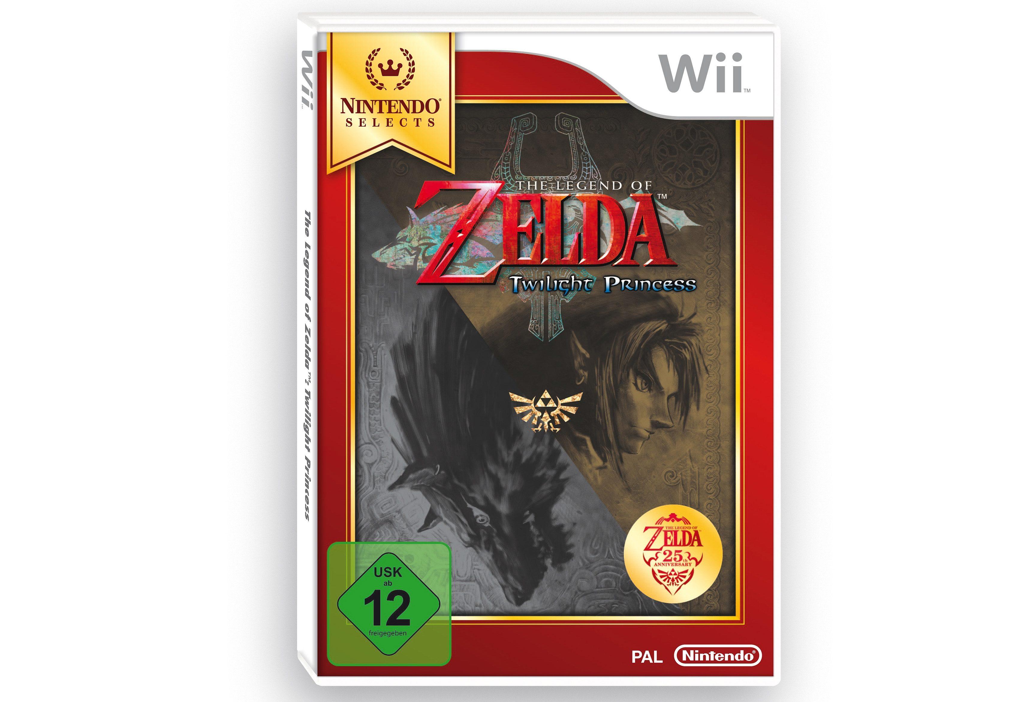 Zelda Twilight Princess Nintendo Selects Wii