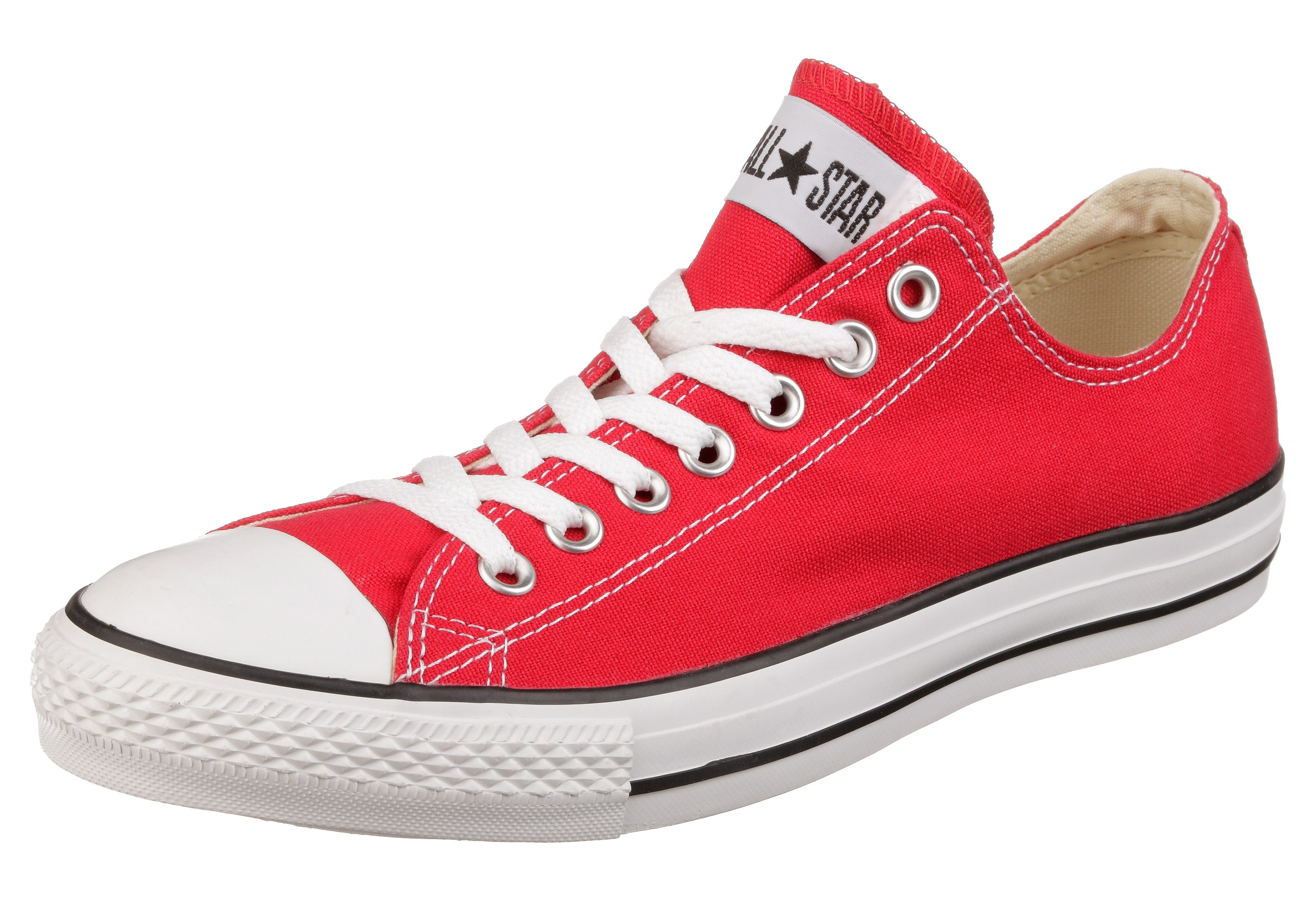 Converse Chuck Taylor All Star Ox U Sneaker  rot-weiß