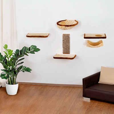 SILVIO design Katzen-Kletterwand, 6-tlg.