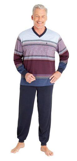 Hajo Pyjama Klima Komfort Bügelfrei