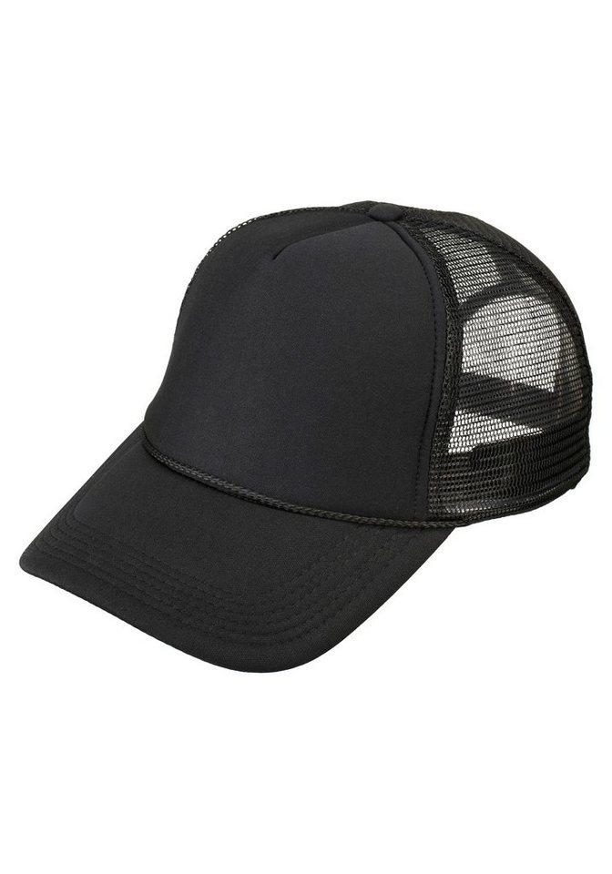 MasterDis Baseball Cap im zeitlosen Design in schwarz