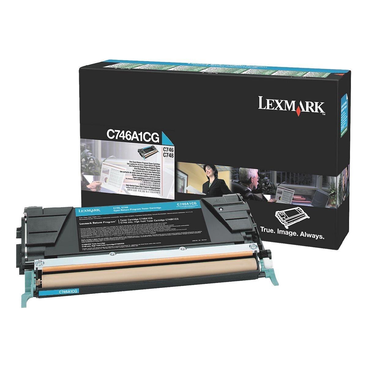 Lexmark Rückgabe-Toner »C746A1CG«