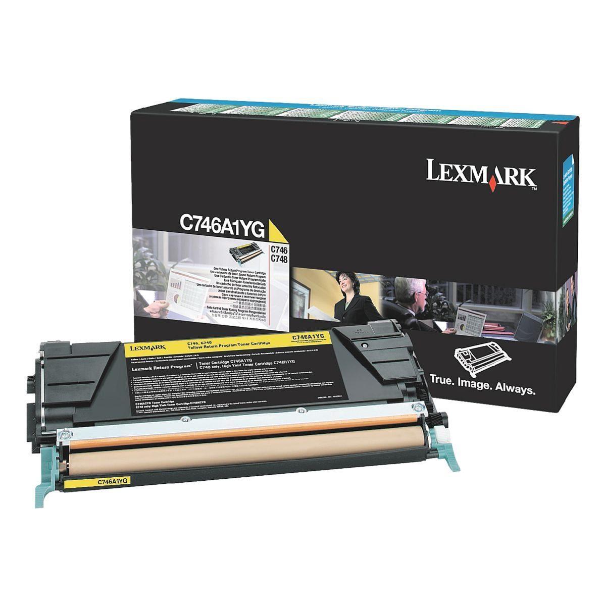 Lexmark Toner »C746A1YG«