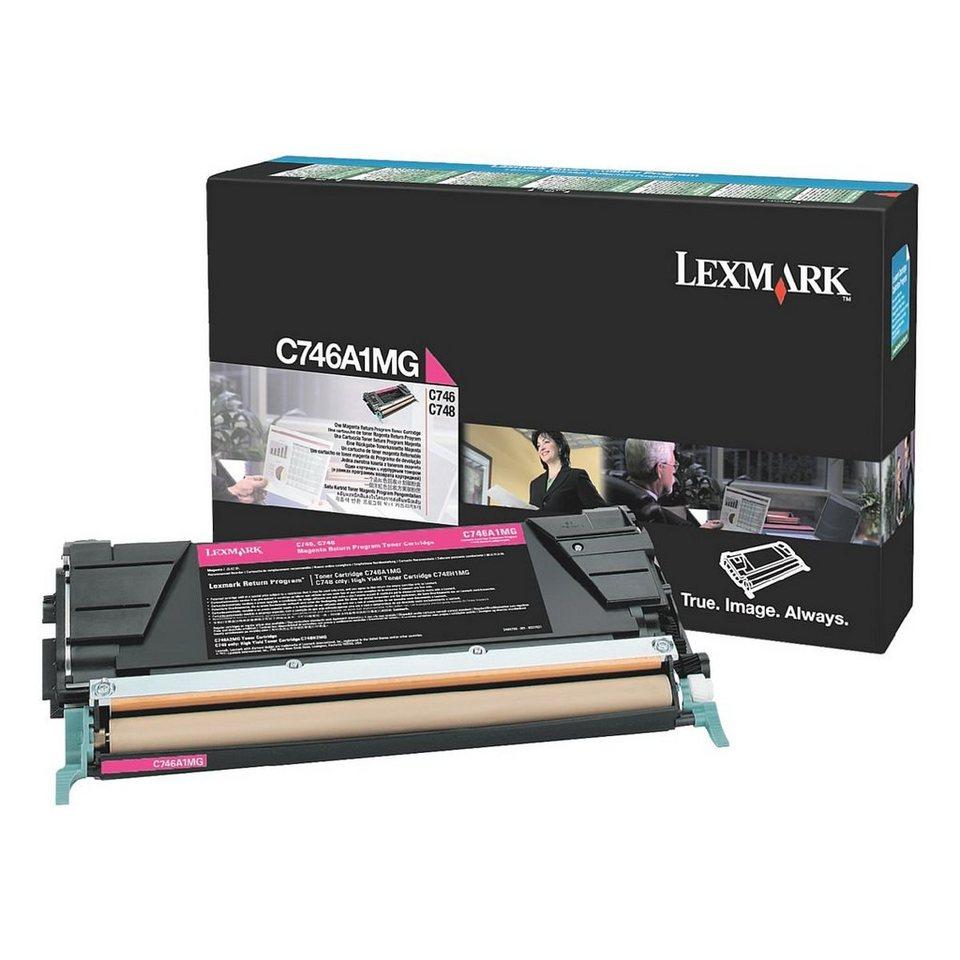 Lexmark Rückgabe-Toner »C746A1MG«