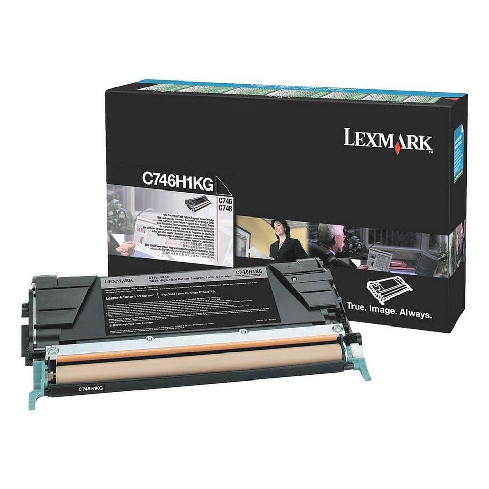 Lexmark Rückgabe-Toner »C746A1KG«