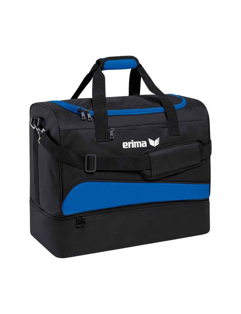 Erima Sporttasche »Erima Sporttasche mit Bodenfach Club 1900 2.0«, mit speziell fixierten Tragegurten