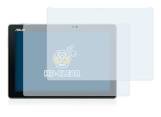 BROTECT Schutzfolie »für Asus ZenPad 10 Z300C«, (2 Stück), Folie Schutzfolie klar