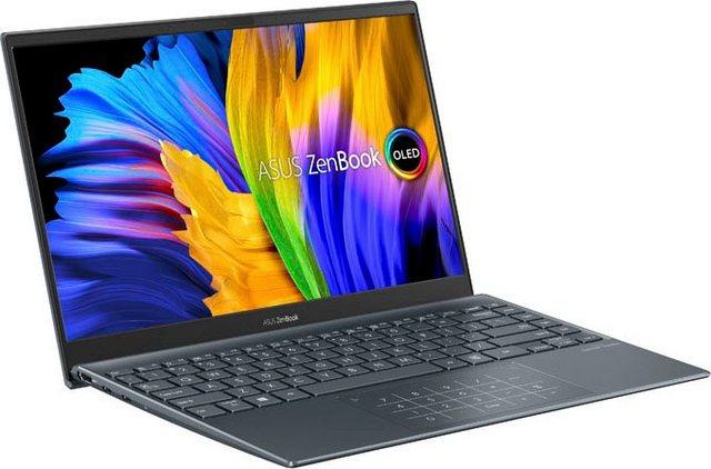 Asus ZenBook 13 OLED UX325EA-KG221T Notebook 33,78 cm 13,3 Zoll, Intel Core i7, Iris Xe Graphics, 512 GB SSD, OLED-Display