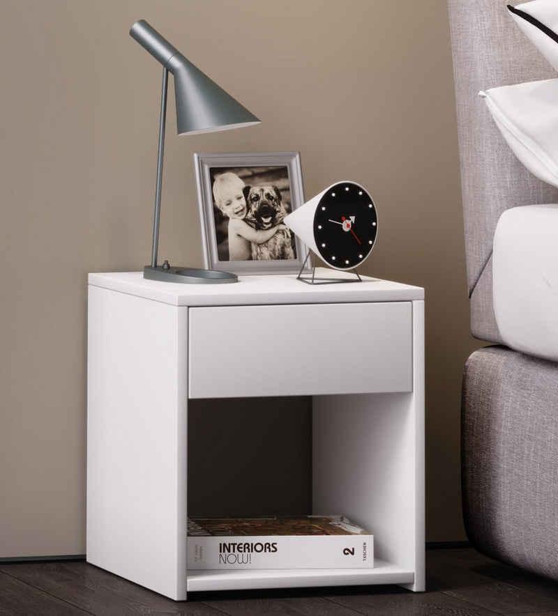 VCM Nachttisch »Holz Nachttisch Sledo Mini mit Schublade«