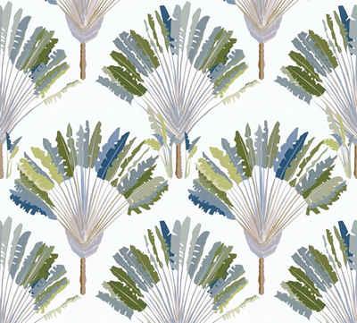 Architects Paper Vliestapete »Jungle Chic«, glatt, floral, botanisch, tropisch, mit Palmen