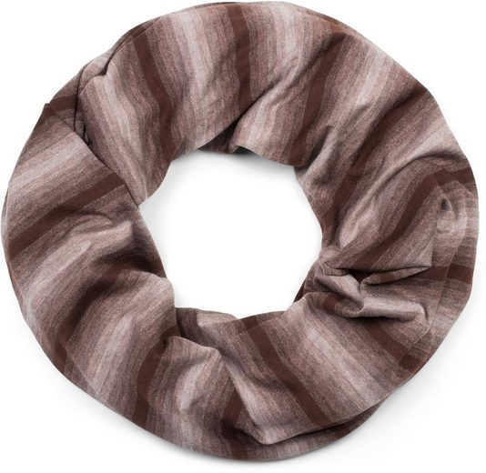 styleBREAKER Loop »Loop Schal mit Streifen Farbverlauf Muster Ton in Ton« Loop Schal mit Streifen Farbverlauf Muster Ton in Ton