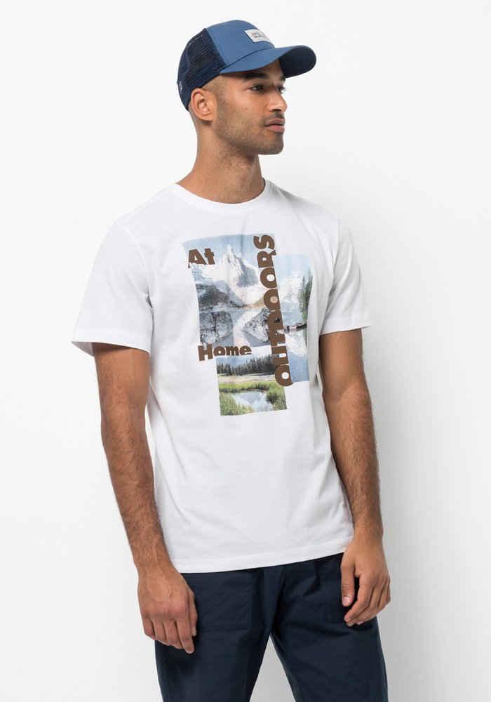 Jack Wolfskin T-Shirt »LAKE MORNING T M«