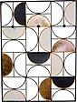 Wandgarderobe, aus Metall, Höhe 101,5 cm, Wandmontage, waagerechte Aufhängung möglich, Bild 2