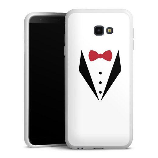 DeinDesign Handyhülle »Red Bow Tuxedo« Samsung Galaxy J4 Plus Duos (2018), Hülle Men Style