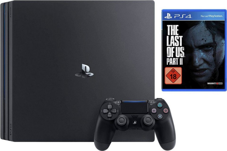 PlayStation 4 Pro 1TB, inkl. The Last of Us Part II