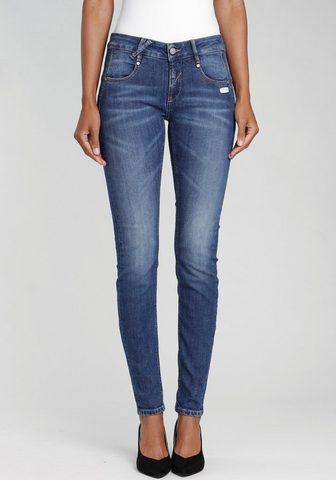 GANG Skinny-fit-Jeans »NELE-GA« su gekreuzt...