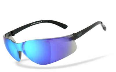 HSE - SportEyes Sportbrille »DEFENDER 1.0«, Steinschlagbeständig durch Kunststoff-Sicherheitsglas