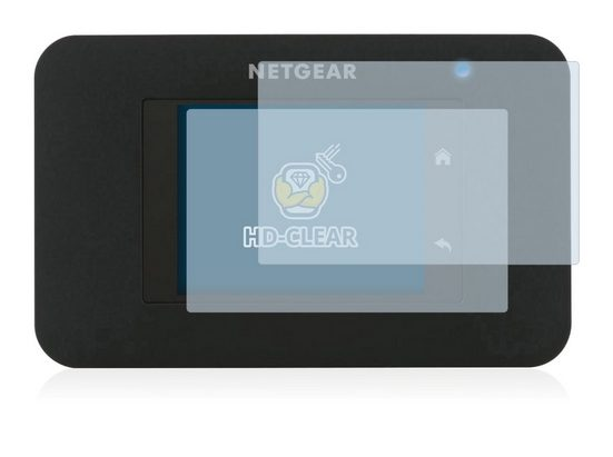 BROTECT Schutzfolie »für Netgear AirCard 790S«, (2 Stück), Folie Schutzfolie klar
