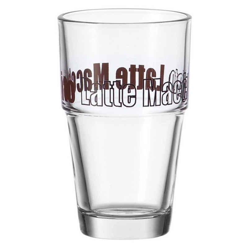 LEONARDO Latte-Macchiato-Glas »Solo 400 ml«, Glas